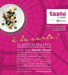 Este fin de semana date el capricho de probar la cocina de los grandes chefs en Taste of Paris. http://paris-infinito.com/el-festival-de-los-chefs-parisin…/