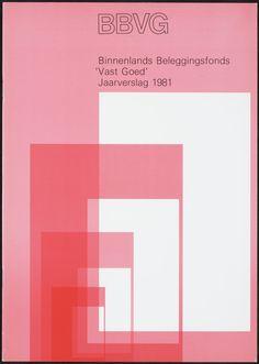 Wim Crouwel – Jaarverslagen – 1981