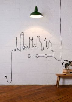 7 Ways to Conceal Power Cords and Make them Decorative!