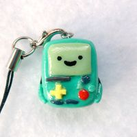 I could totally make a polymer clay BMO.