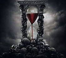Gothic hourglass with red sand and skulls. Dark Fantasy Art, Dark Gothic Art, Fantasy Kunst, Dark Art, Sf Wallpaper, Gothic Wallpaper, Wallpaper Backgrounds, Wallpapers, Gothic Kunst
