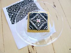 wow- frosted sugar cookie design