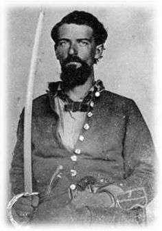 confederate with saber and revolver in belt American Veterans, American Civil War, American History, Confederate States Of America, Confederate Flag, Southern Men, Southern Style, Battle Of Shiloh, Soldier Spy