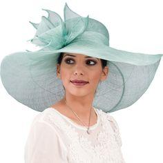 Image of Large Ocean Sinamay Hat
