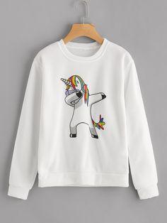I think Haley might like this dabbing Unicorn!