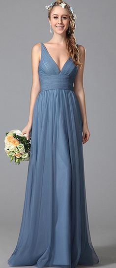 This elegant bridesmaid dress will be perfect for your maids of honor.