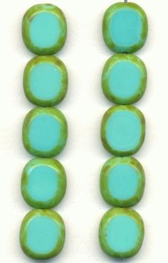 On sale this week at Jan's Jewels: turquoise window beads!