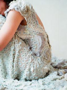 details! // Claire Pettibone gown