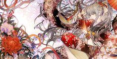 sirousagimoon:  「-紅絵巻-」/「月穂」のイラスト [pixiv]