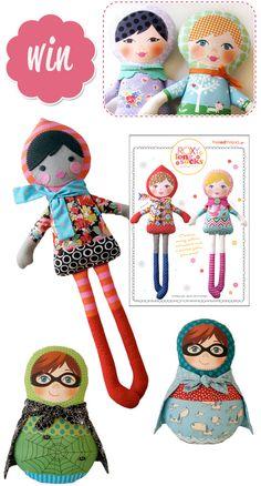 Roxy Long Socks Pattern Kit by The Red Thread #doll pattern