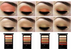 Great tips to apply eye shadow.