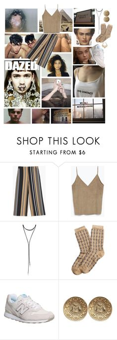 """""""I ain't never ran from nothin' but the police From the city where the skinny carry strong heat Norfside, Long Beach, Norfside, Long Beach"""" by existential-crisis ❤ liked on Polyvore featuring Chico's, Zara, Forever 21, Bulgari, FRIDA, Brooks Brothers, New Balance and Givenchy"""
