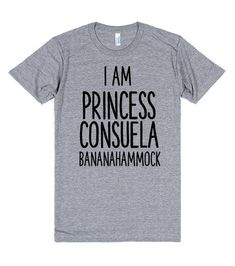 I AM PRINCESS CONSUELA BANANAHAMMOCK FRIENDS