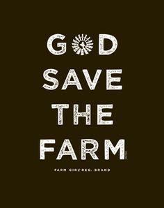Farm Boy Co-op & Feed Co., LLC - God Save Jr. Long Sleeve Tee