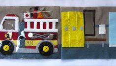 Felt Fire Station - Garage & Locker Room