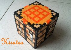 Minecraft hama beads by Kirutsu Hama Beads