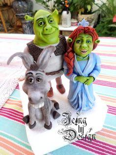 Shrek - Cake by Jennifer