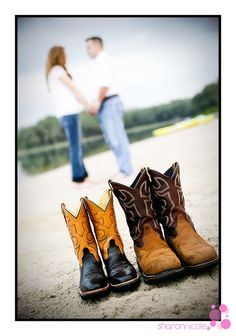 engagement picture with my future country boy and I.   :)