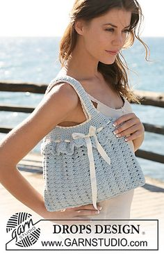 "Crochet-120-9 bag in ""Paris"""