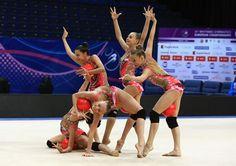 Das russischen #RSG Juniorinnen Nationalteam in der Gruppe http://www.russland.ru/sportgymnastik-russlands-nationale-juniorinnengruppe-fotos/