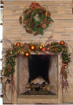 We love using amber tones around the holidays-- www.aspenbranch.com