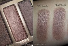 Some new MAC e/s - Sable vs Urban Decay Toasted