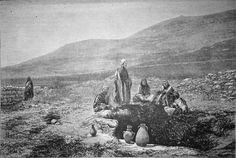 Terre-sainte, le puits de Jacob, février 1879