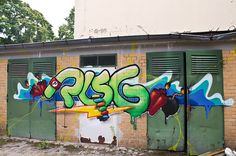 Abandoend and forgotten places in Berlin.     Risg Graffiti    http://www.flickr.com/photos/berlin_streetart/sets/72157630191690894/