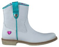 Witte Mim-Pi Korte laarzen voor Eline