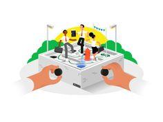 Business Pivot by Markus Magnusson  #Design Popular #Dribbble #shots