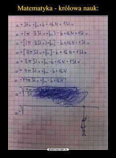 Matematyka - królowa nauk: Wtf Funny, Funny Cute, Funny Jokes, Funny Kid Answers, Friend Jokes, Funny Mems, Lol, Daily Memes, Best Memes