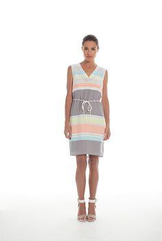 39f6a75226 Soft Stripe Dress - Trenery Confessions Of A Shopaholic