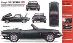 Triumph Spitfire MkIII photos, picture # size: Triumph Spitfire MkIII photos - one of the models of cars manufactured by Triumph Triumph Spitfire, Triumph Motor, Triumph Car, Coventry, Convertible, Automobile, Gadgets, Classy Cars, Car Advertising