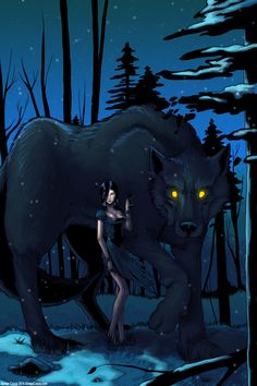 """""""Cry, Wolf"""" Wolf Among Us/Fables Art Print"""