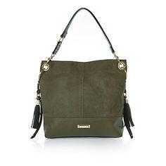 Khaki slouch handbag 43,00 €