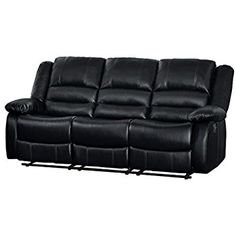 Small Sleeper Sofa, Sectional Sofa With Recliner, Leather Sectional Sofas, Couch Set, Small Sofa, Tufted Sofa, Loveseat Sofa, Leather Sofa, Black Leather
