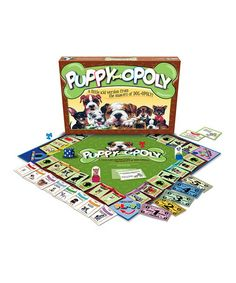Look at this PUPPY-opoly Board Game #games #puppies