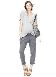 inspiração street fashion maternity - Estilo Esportivo