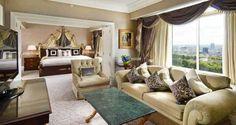 Presidential Suite Master Bedroom @ London Hilton on Park Lane