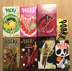 Pocky Assort Set, 7~8 flavors set, Japanese candy, Snack #Glico