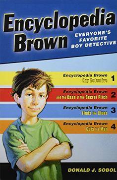 Encyclopedia Brown Box Set (4 Books) by Donald J. Sobol http://www.amazon.com/dp/0142409855/ref=cm_sw_r_pi_dp_JWkKvb1Q8PWM2