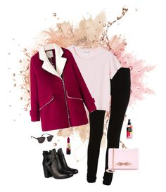 """Mad about you but still look good"" by deserwina ❤ liked on Polyvore featuring VILA, Monki, Chicnova Fashion, Ted Baker, Topshop and Kate Spade"