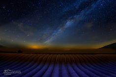 Provenza by night - #provenza #lavanda #francia #night #the Milky Way
