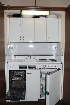 Dwyer Kitchenette - this is basically what I had in my first condo, a small studio unit.