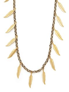 Feather Necklace by Eddera on Gilt.com