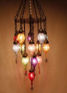 Ottoman Chandelier- Great site of amazing Boho Decor Chandeliers, Chandelier Lighting, Home Lighting, Hanging Chandelier, Lantern Chandelier, Home Deco, Lamp Light, Light Up, Estilo Kitsch