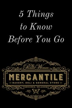 """The Pioneer Woman Mercantile in Pawhuska, Oklahoma welcomes visitors a day. Here are five things you can expect when you visit """"The Merc. Pioneer Woman Recipes, Pioneer Women, The Pioneer Woman, Pawhuska Oklahoma, Ree Drummond, Drummond Ranch, Birthday Weekend, Travel Shirts, Travel Oklahoma"""