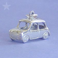 MINI Sterling Silver Charm Pendant CAR MINI COOPER AUSTIN