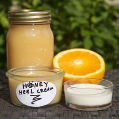 Make Your Own Honey Heel Moisturizer for Dry, Cracked Heels