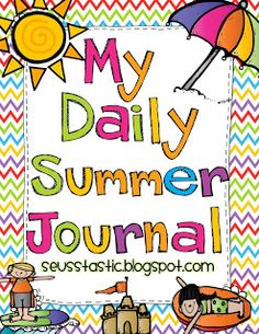 Summer Journal Freebie - - Pinned by @PediaStaff – Please Visit  ht.ly/63sNt for all our pediatric therapy pins
